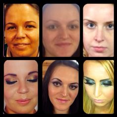 Before and after make up ;)