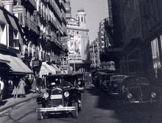Calle Preciados, 1954. Autor desconocido.