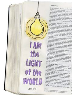 Bible Journaling: five more examples - Artist at work Bible Study Notebook, Bible Study Journal, Art Journaling, Scripture Study, Bible Art, Bible Drawing, Bible Doodling, Bible Verses Quotes, Bible Scriptures
