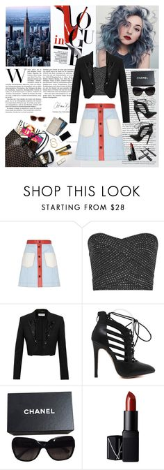 """""""Work Chic"""" by lover-of-pie ❤ liked on Polyvore featuring Fendi, Reiss, Yves Saint Laurent, Chanel and NARS Cosmetics"""