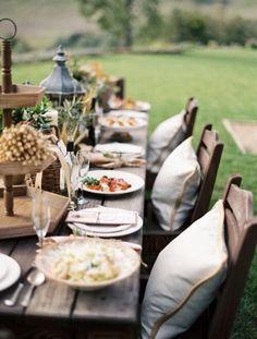 alfresco #table_setting #outdoors #food