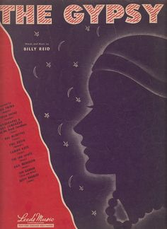 The Gypsy 1946 Sheet Music Words & Music by by QuinsippiMercantile