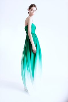 Monique Lhuillier, LOVE. If only  my bridesmaids and I were really rich...
