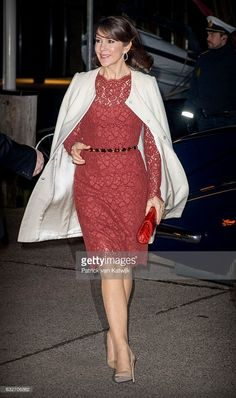 News Photo : Crown Princess Mary arrives at the Nordatlantens...