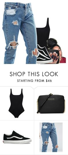 """Otp with Boyfriendd <3"" by jayzhee ❤ liked on Polyvore featuring Orlebar Brown, MICHAEL Michael Kors, Vans and ASOS"