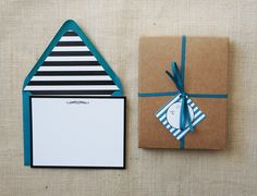 Classic Peacock Social Stationery by DawnCorrespondence on Etsy