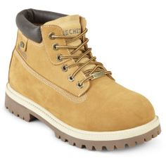 Skechers Verdict Mens Leather Work Boots