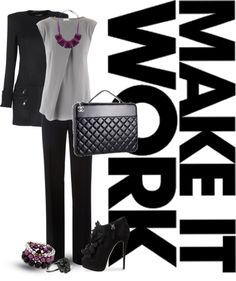 "WWW.MADLYUNCOUTH.COM   ""Job Interview Outfit #3"" by jessicaprather on Polyvore"