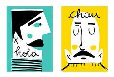 hola y chau on Behance