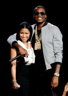 celebritiesofcolor:  Nicki Minaj and Meek Mill at the 2015 BET Awards