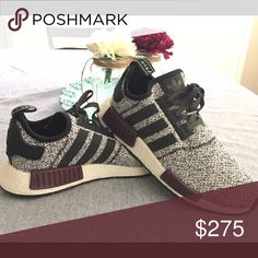 Adidas women NMD Limited Gently used, super cute authentic and rare Adidas NMD. Will not come in original box. Price is negotiable, so make an offer :) Adidas Shoes Athletic Shoes