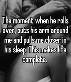 You did this a lot last night...I love it. You wouldn't let me out of bed...always pulling me back in!
