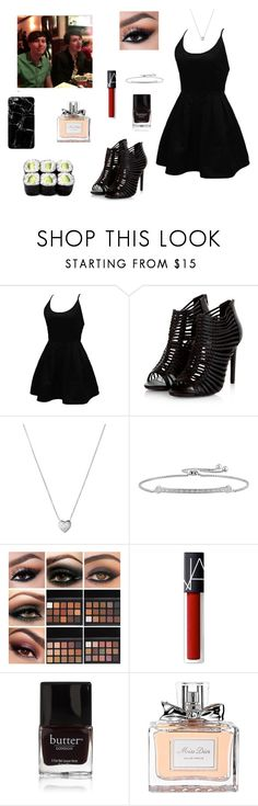 """At a Restaurant With Dan & Phil <3~The Boy With The Cat Whiskers"" by gravityfallsgirl33 ❤ liked on Polyvore featuring WithChic, Links of London, NARS Cosmetics, Butter London, Christian Dior and Harper & Blake"