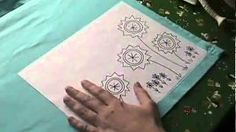 Video: How To Transfer an Embroidery Pattern