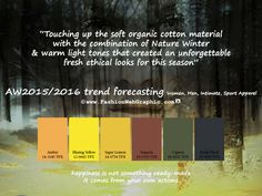 AW2015/16 trend forecasting by Judith Ng, via Behance
