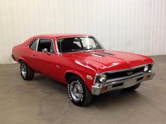 1971 Chevrolet Nova my baby  in red!