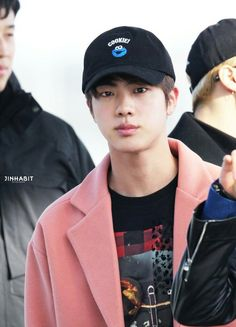 Jin was indeed born on handsome