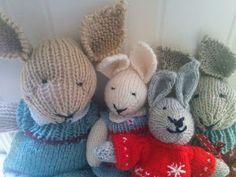 Little Cotton Rabbits, Teddy Bear, Diy, Beren, Animals, Products, Craft Work, Figurine, Animales