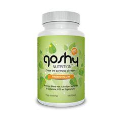 http://shop.overloadworldwide.nl/supplementen/probiotica.html  Probioticum van Goshy Nutrition™ is een uitgebalanceerde probiotische mix, waar tevens L-Glutamine, FOS en Digezyme® aan zijn toegvoegd.  FOS is een voedingsvezel die goed door de darmflora worden opgenomen. Daarmee ondersteunt het de darmbacteriën in dit supplement.