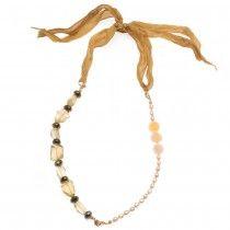 Retired - Lemon Cream Necklace & Bracelet