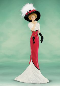 """Coca-Cola - """"Elegance of Coca Cola"""" - Refreshing as a Coca Cola Lady Figurine"""