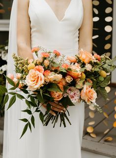 Nicole's DIY orange wedding bouquet Orange Wedding Flowers, Orange Flowers, Valentines For Singles, Rent Dresses, Flower Installation, Yard Wedding, Diy Wedding Bouquet, Ceremony Backdrop, Bridesmaid Dresses