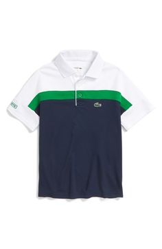 Lacoste Colorblock Ultra Dry Polo (Big Boys) available at #Nordstrom