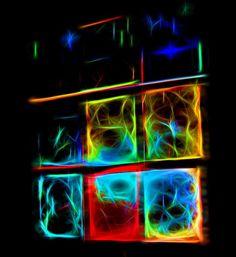 Abstrakti, Neon, Tausta, Valo, Design, Kirkas, Väri