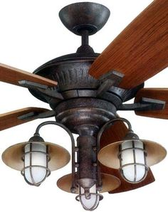 rustic ceiling fans | Rustic Ceiling Fans & Lighting from CastAntlers | For the Home