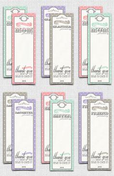 Free printable bookmarks for mom, mum, daughter, grandma, sister, or friend.