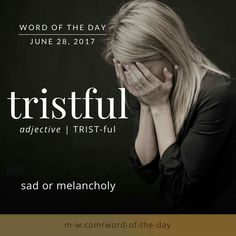 in french triste means sad Interesting English Words, Unusual Words, Weird Words, Rare Words, Cool Words, English Idioms, English Phrases, Learn English Words, Words To Use
