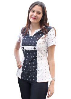 Chaqueta Enfermera Cute Scrubs Uniform, Diy Couture, Medical Scrubs, Nursing Clothes, Scrub Tops, Office Fashion, Work Wear, Costume, My Style