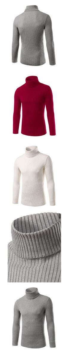 2017 Winter Mens white Sweaters and Pullovers Men Turtle Neck Brand Sweater Male Outerwear Jumper Knitted Turtleneck Sweaters