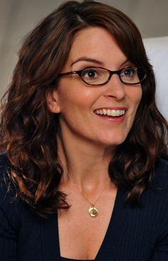 Tina Fey...she's hilarious, intelligent, and she rocks those specs like nobody's business. She gives nerds like me hope.