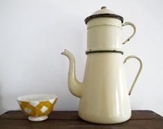 Circa 1900 large pot.  cafetera criolla.