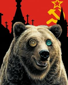 The New Soviets | Illustration by Paul Dickinson |  pdickinson.com