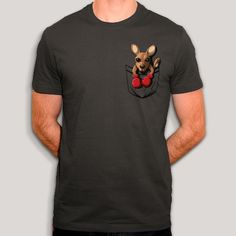 T Shirt, Mens Tops, Fashion, Kangaroo Baby, Cotton, Animaux, Accessories, Bebe, Moda