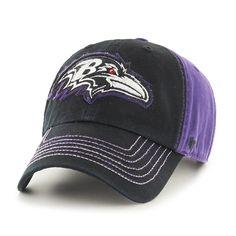 Baltimore Ravens Slot Back Clean Up Purple 47 Brand Adjustable Hat b535944a4