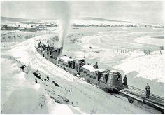 Czech armoured train, Yenisei province, Russia, 1919