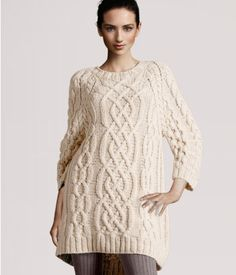 Sweater Dress with Leggings. Does winter get any better?