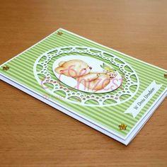 Karta urodzinowa. Karty ręcznie robione. #KartyRęcznieRobione