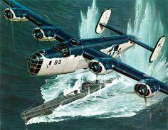 1943 consolidado PB4Y-1 Libertador