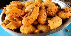 street food- bhaji #streetfood #food #manchurian