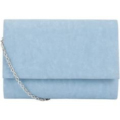 COLLECTION by John Lewis Dita Pastel Clutch Handbag, Pastel Blue (205 SEK) ❤ liked on Polyvore featuring bags, handbags, clutches, purses, accessories, blue, evening clutches, blue hand bag, blue handbags and handbags purses