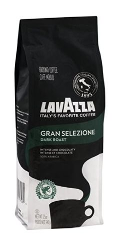 Lavazza Ground Coffee Gran Selezione Dark Roast 12 OZ Pack of 12 * More info could be found at the image url.