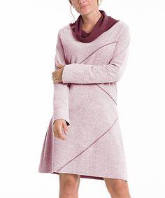 Merlot Reversible Sweater Dress | zulily