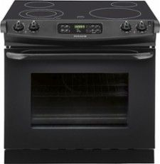 #Frigidaire 4.6 Cu. Ft. Self-Cleaning Drop-In Electric Range Black FFED3025PB - Best Buy #kitchenappliances#kitchen#home#cooking