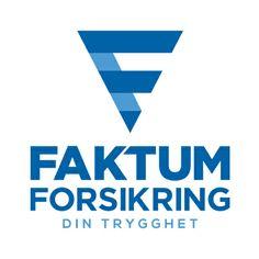 Vår nye logo design til Faktum Forsikring! #logokompaniet #LogoDesign
