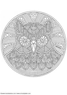 find this pin and more on mandalas owl mandala coloring pages