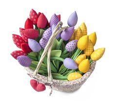 Tulipany, wielkanoc, dekoracje wielkanocne, kwiaty, wiosenne dekoracje, ozdoby wieosenne, ozdoby na wiosnę. Zobacz więcej na: https://www.homify.pl/katalogi-inspiracji/20678/wielkanocne-dekoracje-6-pieknych-propozycji